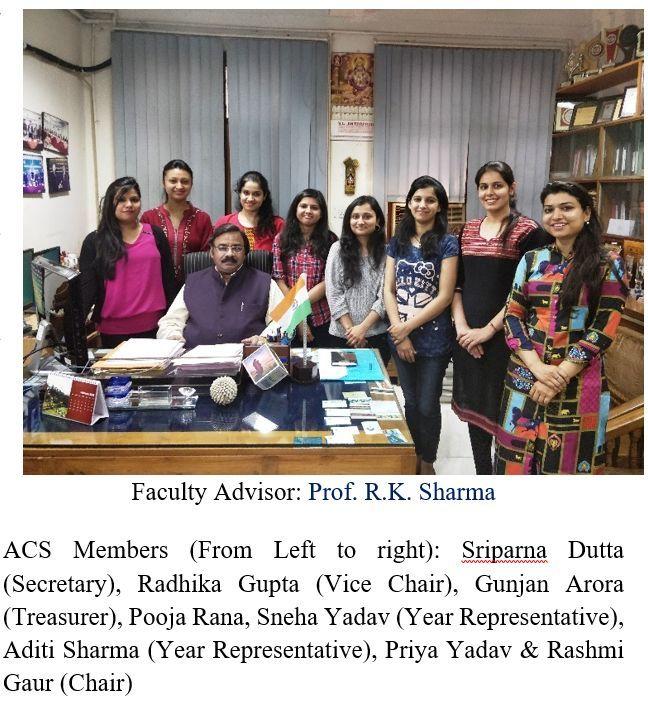 ACS International Student Chapter Highlight: University of Delhi