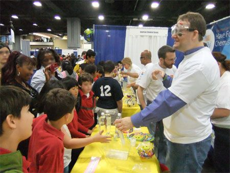 Sneak peak Friday at the 2012 USA Science and Engineering Festival.