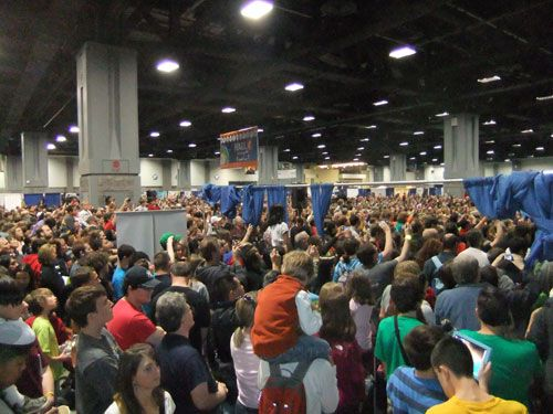 Crowds at First Full Day of 2012 Fest