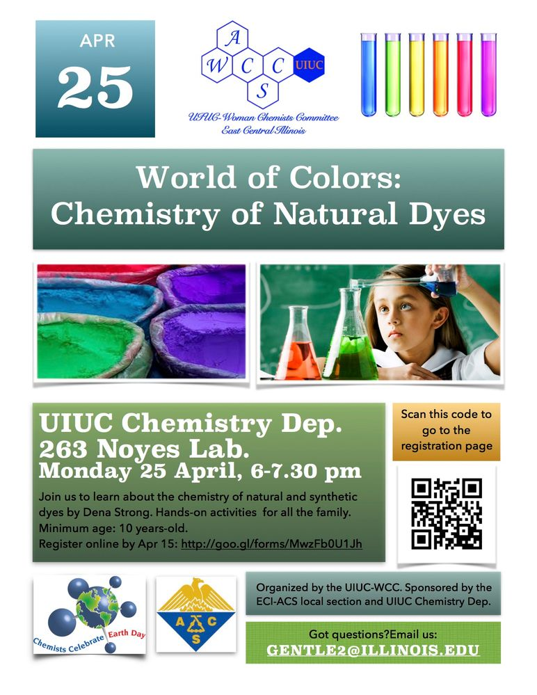 World of Colors: The Chemistry of Natural Dyes