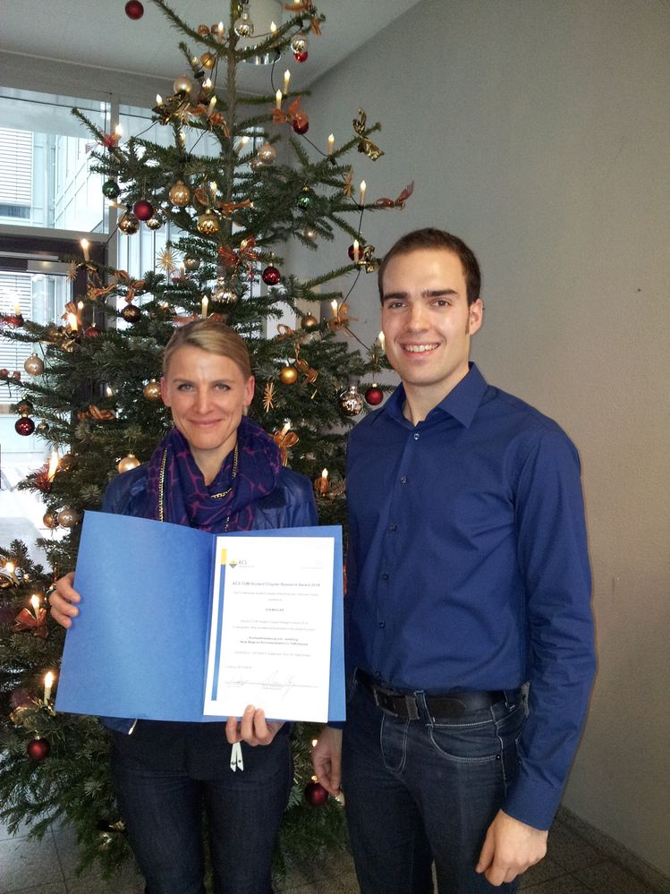 ACS TUM Student Chapter Research Award winners 2014