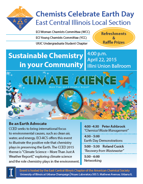 Celebrate Earth Day with ECI-ACS