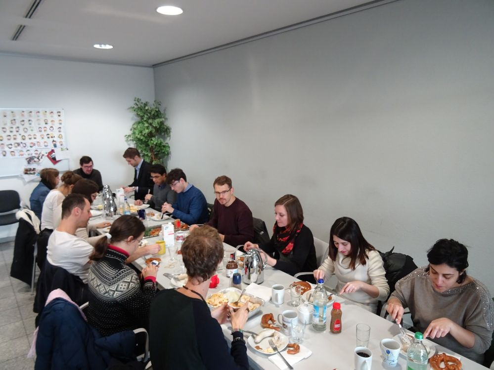 First Meeting of European Student Chapters: Students from UNIMORE (Modena, Italy) visit TU Munich in Freising (Germany)