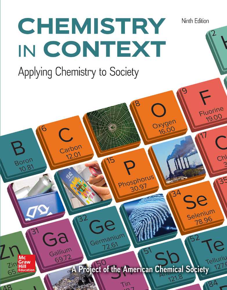 The 9th edition of Chemistry in Context is here!
