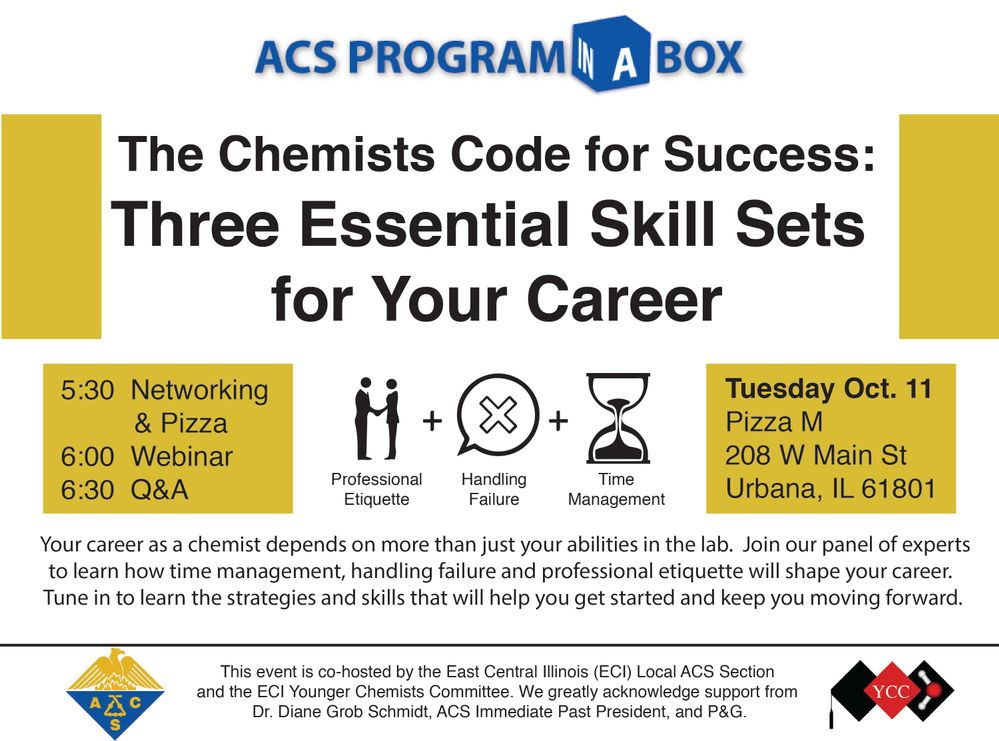 Program-in-a-Box Webinar: The Chemists Code for Success