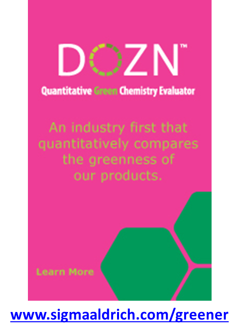 DOZN™ – A Quantitative Green Chemistry Evaluator
