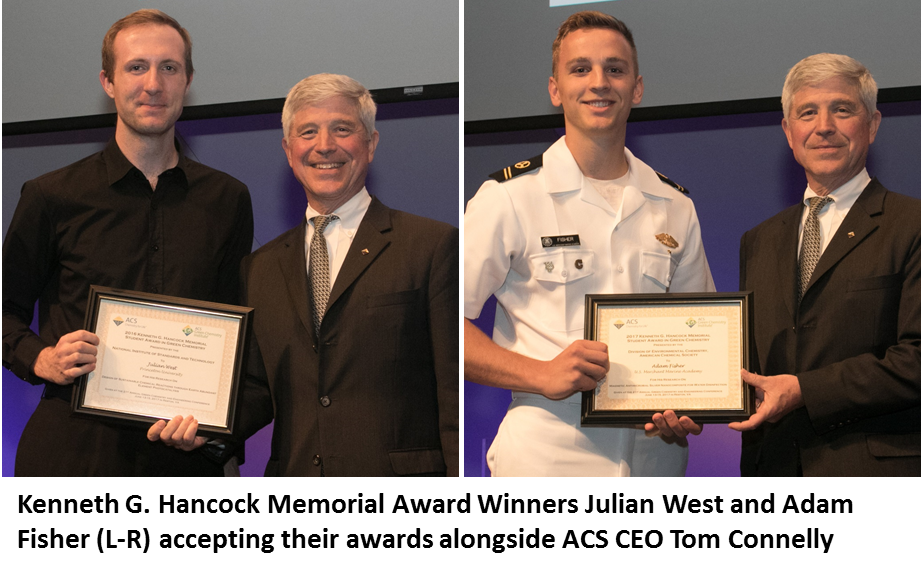 Princeton University and United States Merchant Marine Academy Students Win the Kenneth G. Hancock Memorial Award