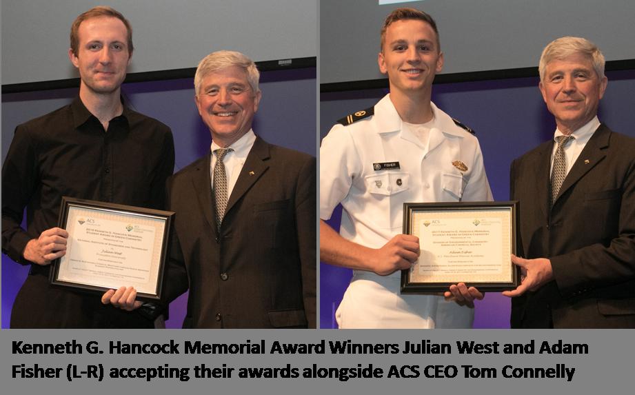 Princeton University and United States Merchant Marine Academy Students Win the Kenneth G. Hancock Memorial Award