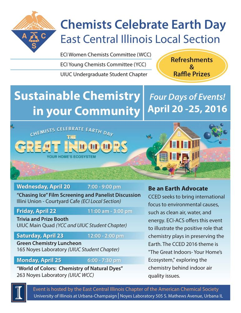 Chemists Celebrate Earth Day (CCED) 2016