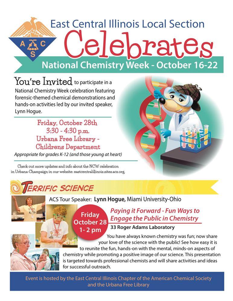 Celebrate National Chemistry Week!