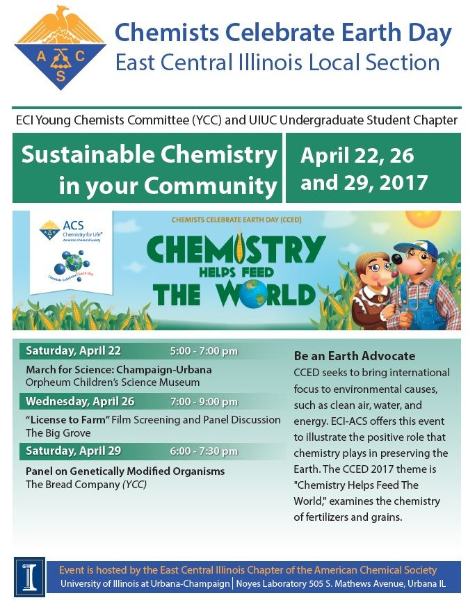 Chemists Celebrate Earth Day Activities