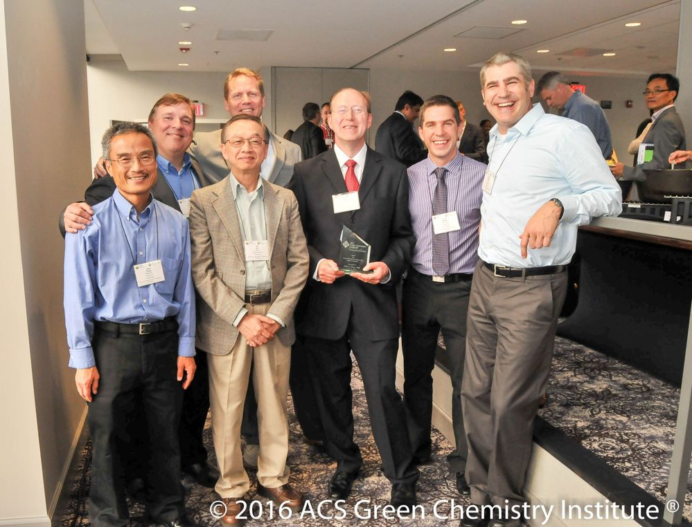 Professor Charles Liotta and Pete Dunn Recognized for Green Chemistry Achievements
