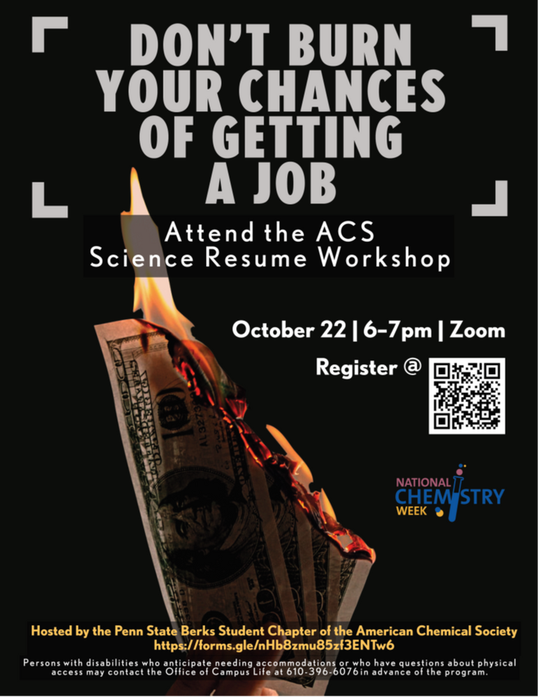 Science Resume Workshop