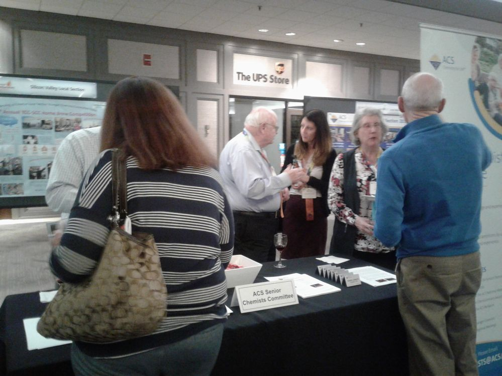 Senior Chemists Booth #1031 - ACS Expo Welcome Reception