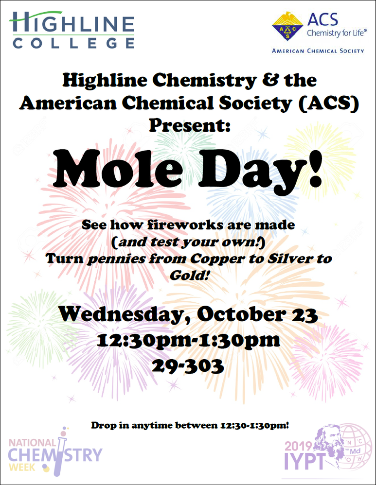 Mole Day Event at Highline College