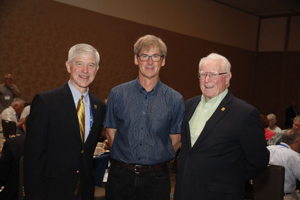 Images from the Senior Chemists Breakfast in San Diego, August 27